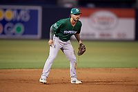 Daytona Tortugas third baseman Jonathan India (6) during a Florida State League game against the Tampa Tarpons on May 17, 2019 at George M. Steinbrenner Field in Tampa, Florida.  Daytona defeated Tampa 8-6.  (Mike Janes/Four Seam Images)