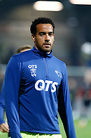 Tom Huddlestone of Derby County warms up during the Sky Bet Championship match between Brentford and Derby County at Griffin Park, London, England on 26 September 2017. Photo by Carlton Myrie / PRiME Media Images.