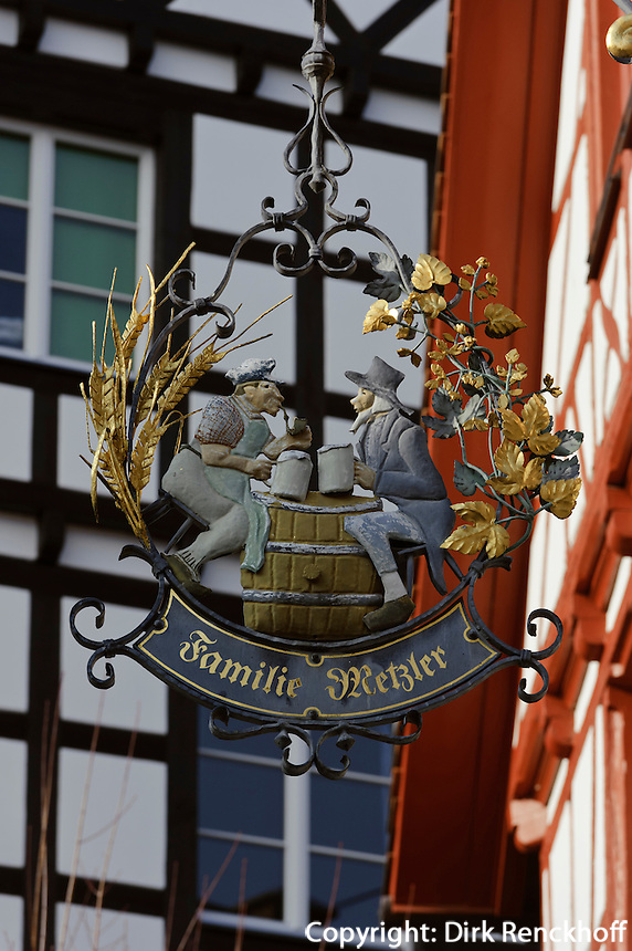 Gaststätte Bürgerbräu in Konstanz, Baden-Württemberg, Deutschland