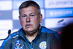 Leicester City FC head coach Craig Shakespeare during a Premier League Asia Trophy Press Conference at Grand Hyatt Hotel on July 21, 2017 in Hong Kong, China. Photo by Marcio Rodrigo Machado / Power Sport Images