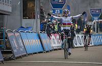 U23 CX World Champion Eli Iserbyt (BEL/Marlux - Napoleon Games) wins the U23 race<br /> <br /> GP Sven Nys 2017