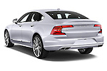 Car pictures of rear three quarter view of 2017 Volvo S90 Inscription 4 Door Sedan Angular Rear