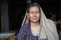 Candle Maker at Swayambhunath, Nepal