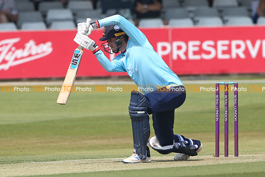 Will Buttleman in batting action for Essex during Essex Eagles vs Cambridgeshire CCC, Domestic One-Day Cricket Match at The Cloudfm County Ground on 20th July 2021