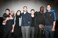 EXCLUSIF - SOUFIANE GUERRAB, NAILIA HARZOUNE, PABLO PAULY, FRANCK FALISE & MOUSSA MANSALY & les realiasteurs du film MEHDI IDIR & GRAND CORPS MALADE - SOIREE DE PRESENTATION DU FILM 'PATIENTS'