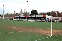 General view of Stamford AFC Football Ground, Wothorpe Road, Stamford, Lincolnshire, pictured on 12th April 1993