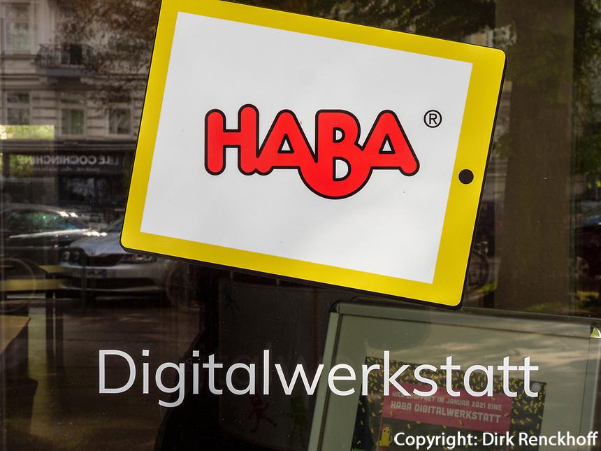 HABA Digitalwerkstatt Eppendorfer Weg 279 in Hamburg-Hoheluft-Ost, Deutschland, Europa<br /> HABA Digitalwerkstatt Eppendorfer Weg 279 in Hamburg-Hoheluft-Ost, Germany, Europe