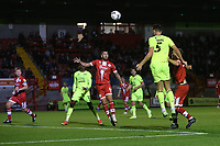 Dan Happe of Leyton Orient scores the second goal for his team during Crawley Town vs Leyton Orient, Papa John's Trophy Football at The People's Pension Stadium on 5th October 2021