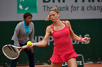Paris, France, 26 June, 2016, Tennis, Roland Garros,  Camila.Giorgi (ITA)<br />