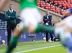St Johnstone v Hibs…22.05.21  Scottish Cup Final Hampden Park<br />Saints boss Callum Davidson watches the game<br />Picture by Graeme Hart.<br />Copyright Perthshire Picture Agency<br />Tel: 01738 623350  Mobile: 07990 594431
