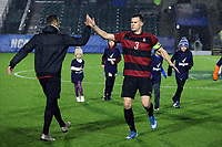 CARY, NC - DECEMBER 13: Tanner Beason #3 of Stanford University during a game between Stanford and Georgetown at Sahlen's Stadium at WakeMed Soccer Park on December 13, 2019 in Cary, North Carolina.