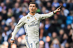 Cristiano Ronaldo of Real Madrid looks on during their La Liga match between Real Madrid and Granada CF at the Santiago Bernabeu Stadium on 07 January 2017 in Madrid, Spain. Photo by Diego Gonzalez Souto / Power Sport Images