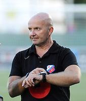 FC UTRECHT :<br /> Trainer Jürgen Schefczyk<br /> Foto Dirk Vuylsteke / nikonpro.be