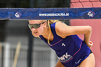 27th June 2020, Dusseldorf, Germany; The German Beach Volleyball League; Nele Barber USC Muenster