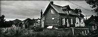 Europe/France/Nord-Pas-de-Calais/Pas-de-calais/62/Loos-en-Gohelle: les corons de la cité minière et les terrils