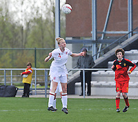 UEFA Women's Under 17 Championship - Second Qualifying round - group 1 : Belgium - England : .Leah Catrhine Williamson .foto DAVID CATRY / Vrouwenteam.be