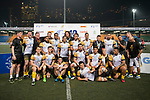 Penguin International receives the medal at the Cup Prize Presentation Ceremony of the GFI HKFC Rugby Tens 2017 on 06 April 2017 in Hong Kong Football Club, Hong Kong, China. Photo by Marcio Rodrigo Machado / Power Sport Images