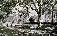 A view of Regent's Park, 1809-1832. Scenic walkway.
