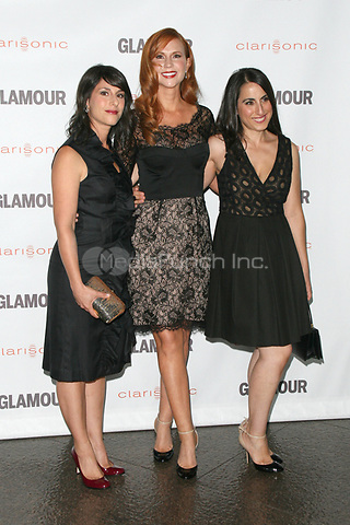 Jana Banin, Jan Livingston Mokhtari and Suzanne Reese at the 2011 Glamour Reel Moments at the Directors Guild of America on October 24, 2011 in Los Angeles, California. © MPI21 / MediaPunch Inc.