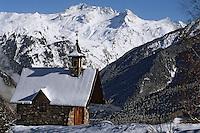 Europe/France/Rhône-Alpes/73/Savoie/Courchevel: Chapelle du cure d'Ars