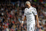 Real Madrid´s Pepe during Champions League soccer match at Santiago Bernabeu stadium in Madrid, Spain. March, 10, 2015. (ALTERPHOTOS/Caro Marin)