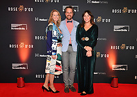 Picture by Simon Wilkinson/SWpix.com 01/122019 -  Rose d'Or 2019 Award Ceremony, red carpet arrivals and winners. Kings Place, London<br /> -