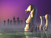 Staffng the Trojan Horse for battle