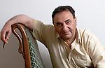 Juan Jose Saer at home in Paris.
