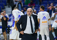 30th September 2021; Madrid, Spain:  Euroleague Basketball, Real Madrid versus Anadolu Efes Istanbul;  Pablo Laso coach Real Madrid Matchday 1 between Real Madrid and Anadolu Efes Istanbul