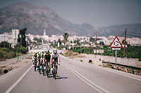2017 TT World Champion Annemiek van Vleuten (NED/Mitchelton-Scott) training with her teammates on her costumized Scott Plasma TT bike<br /> <br /> Mitchelton-Scott Women's team training camp in Oliva (Alicante) /Spain, may 2018<br /> ©kramon