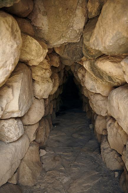 Pictures & Images of the tunnel under the Postern Gate, Alaca Hoyuk (Alacahoyuk) Hittite archaeological site  Alaca, Çorum Province, Turkey, Also known as Alacahüyük, Aladja-Hoyuk, Euyuk, or Evuk