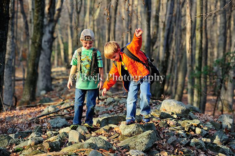 BOYS ON ROCKS