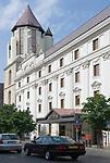 HUN, Ungarn, Budapest, Stadteil Buda, Burgviertel: das Hilton Hotel | HUN, Hungary, Budapest, Castle District: the Hilton hotel