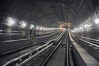 - Milano, collaudo della nuova linea 5 della Metropolitana....- Milan, testing of the new Metro line 5