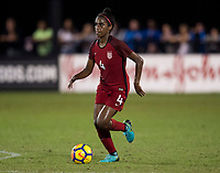 Lakewood Ranch, FL - December 7, 2017: The U20 USWNT tied England, 3-3, during the first game of the Nike International Friendlies at Premier Sports Campus.