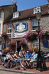 Great Britain, England, East Sussex, Brighton: The Druids Head. Pub scene in The Lanes area