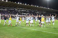 21nd September 2021; Artemio Franchi Stadium, Florence, Italy; Serie A championship football, AC Fiorentina versus Inter MIlan; players of Internazionale celebrate the victory at the end of the match