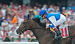 1 August 10: First-time starter Erin Rose breaks her maiden on Haskell Invitational Day at Monouth Park in Oceanport, New jersey