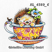 CUTE ANIMALS, LUSTIGE TIERE, ANIMALITOS DIVERTIDOS, paintings+++++,KL4589/6,#ac#, EVERYDAY ,sticker,stickers ,hedgehock,hedgehocks ,bear,bears ,autumn