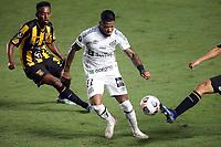Santos (SP), 04.05.2021 - Santos-The Strongest - O jogador marinho. Partida entre Santos e The Strongest valida pela fase de grupos da Libertadores da América nesta terça (4) no estadio da Vila Belmiro em Santos.