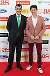 Juan Carlos Higuero poses during AS Sport Female Awards ceremony in Madrid, Spain. December 15, 2014. (ALTERPHOTOS/Victor Blanco)