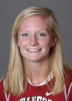 STANFORD, CA - OCTOBER 29:  Cassie Newhouse of the Stanford Cardinal women's lacrosse team poses for a headshot on October 29, 2009 in Stanford, California.