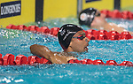 Wales Xavier Castelli in action during the 50m Backstroke semi-final<br /> <br /> *This image must be credited to Ian Cook Sportingwales and can only be used in conjunction with this event only*<br /> <br /> 21st Commonwealth Games - Swimming - Day 3 - 07\04\2018 - Gold Coast Optus Aquatic centre - Gold Coast City - Australia