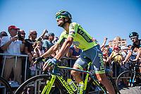 Castellon, SPAIN - SEPTEMBER 7: Manuele Boaro during LA Vuelta 2016 on September 7, 2016 in Castellon, Spain