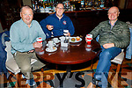 Tralee Chain Gang members John Murray, Tomas Crowley and Pat Sullivan enjoying the coffee morning in the Meadowlands Hotel for the Kerry Hospice on Thursday.