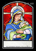 Randy, HOLY FAMILIES, HEILIGE FAMILIE, SAGRADA FAMÍLIA, paintings+++++SGgc-Mary-and-Baby-Jesus-stained-glass,USRW183,#xr# ,church window, stained glass