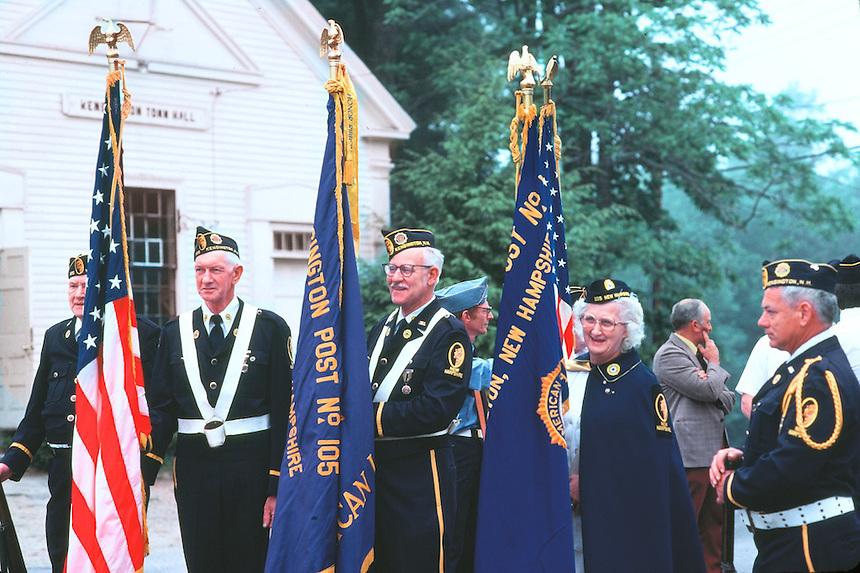 Memorial day, Kensington, New Hampshire. Photograph by Peter E. Randall