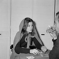 La comedienne Genevieve Bujold, dans les années 70<br /> <br /> PHOTO :  Agence Quebec Presse - Roland Lachance