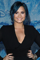 """HOLLYWOOD, CA - NOVEMBER 19: Singer Demi Lovato arrives at the World Premiere Of Walt Disney Animation Studios' """"Frozen"""" held at the El Capitan Theatre on November 19, 2013 in Hollywood, California. (Photo by David Acosta/Celebrity Monitor)"""