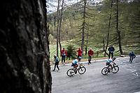 Stage 14: Saint Vincent to Courmayeur/Skyway Monte Bianco (131km)<br /> 102nd Giro d'Italia 2019<br /> <br /> ©kramon